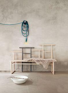 Bank skandinavisches Design - MILJØ INTERIOR