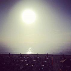 An awe inspiring sunrise over the Atlantic at Four Seasons Resort Palm Beach.