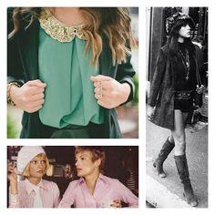 Gustos & Colores: Vuelve una nueva versión de la moda vintage