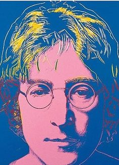 John Lennon, 1985 by Andy Warhol