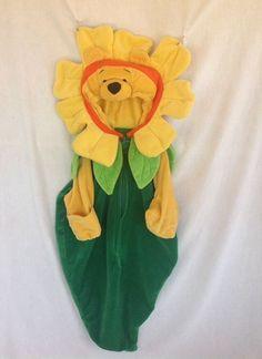 Disney Winnie The Pooh 0-3 Mo Costume Adorable Bunting Bag Sunflower Halloween #Disney #CompleteCostume
