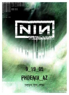 Nine Inch Nails Poster