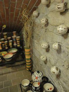 Ceramics shop/studio in Prague