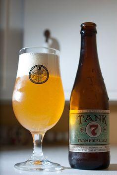 YEP!! Enjoyed at Beer Bar SLC. Boulevard Brewing Company - Tank 7 Farmhouse Ale 8.5%ABV