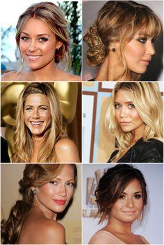 celebrity bronze makeup inspiration