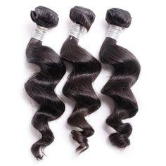 Top Grade Virgin Peruvian Loose Curl Hair, #peruvianhair weave #loosecurl human hair.