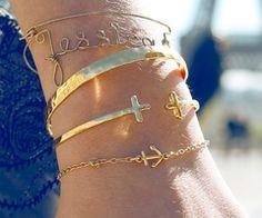 Style / little anchor bracelet