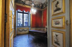The Camillo Benso Count of Cavour's office at Palazzo Carignano in Torino. Cavour was the first Prime Minister of the Kingdom of Italy ; and in those days, Torino (Turin) was the capital of the newly created Italian State.