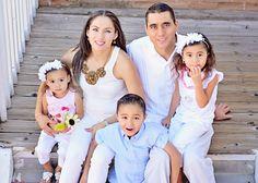 Familia en la ciudad de Albuquerque, NM.