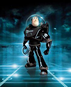Buzz Lightyear Tron Legacy