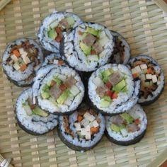 Vegan sushi recipe vegan-cuisine