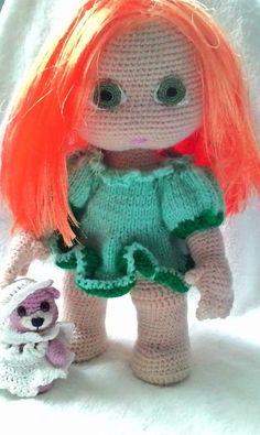 Kleine süße bambolota zum häkeln :)