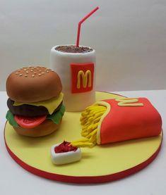Fast Food Birthday Cake
