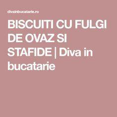 BISCUITI CU FULGI DE OVAZ SI STAFIDE | Diva in bucatarie