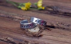 Batman and robin rings!