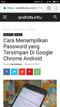 Cara Menampilkan Password yang Tersimpan di Google Chrome. Baca selengkapnya di androbuntu.com.