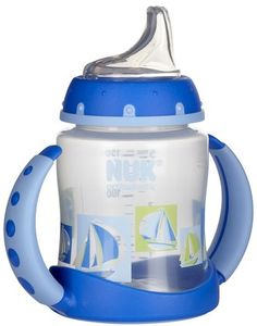 I want to get this~NUK's Learner Cups will help you transition baby from breast or bottle to cup with ease.