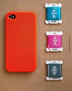 #29 Cross Stich Case! http://www.web-rated.nl/2013/01/30/29-product-van-de-dag-iphone-cross-stitch-case/