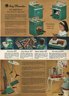 1960/'s Deluxe Reading SUZY HOMEMAKER Oven INSTRUCTIONS Reproduction
