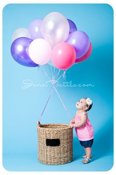 9 Months air balloon basket