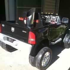 WwwDieselTeescom Cummins kids power wheel w trailer and tractor