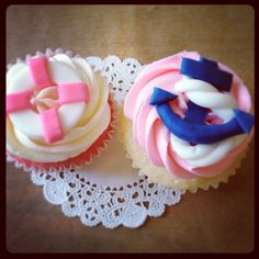Girls nautical baby shower cake | In: Girl Nautical Theme in album: Baby Shower