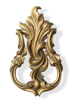 Louis XV Hand-Casted Solid-Brass Door Knocker | P.E. Guerin