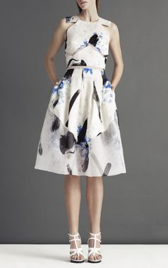 Christopher Kane Blue Dutch Princess Dress