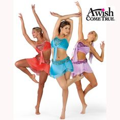 Dance 2013: Sunrise with midriff - Adult Ballet/Lyrical Dance Costume
