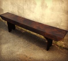 what a bench this is! a 7 foot handmade beauty perfect for a farmhouse table or a gorgeous porch! We toasted up the top and dark waxed her back to beauty and she is ready to go! $635 you can call to buy 484-580-6421  open until 6 today  #woodbench #vintage #farmhousestyle #home #style #devon #vintageshop #eastcotelane