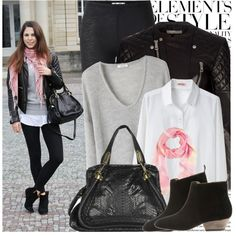 """""""Blogger Style : Miris Castle"""" by marina-castro on Polyvore"""