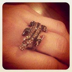Gator ring, dont know where she got it. @goalexmez instagram