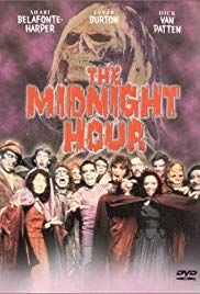 DVD: The Midnight Hour (also known as In the Midnight Hour) is a 1985 American comedy-horror television film that aired on ABC on Friday, November at PM EST. It stars Shari Belafonte-Harper, LeVar Burton, Peter DeLuise, and Dedee Pfeiffer. Halloween Horror Movies, Halloween Night, Happy Halloween, Horror Posters, Horror Films, Movie Posters, Top Movies, Scary Movies, Awesome Movies