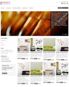 Matrice Prestashop theme  Simple, quite beautiful and FREE :)