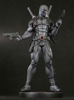 Bowen Designs has listed a X-Force Deadpool statue exclusively on their website for pre-order. The statue is comes out Fall 2012 and costs $230. [SOURCE]