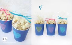 Valentine cups for treats