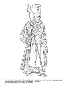 Men's clothing in Qin (221 to 206 BC) and Han Dynasty (221