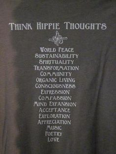 hippie thoughts