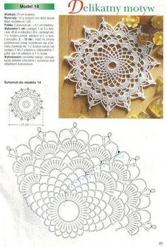 Robotki Reczne MIX - Tayrin 3 - Picasa-verkkoalbumit Crochet Leaf Patterns, Crochet Leaves, Crochet Circles, Crochet Doily Patterns, Crochet Round, Crochet Chart, Crochet Home, Thread Crochet, Crochet Gifts