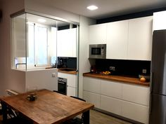Kitchen Island, Kitchen Cabinets, Home Decor, Ideas, American Kitchen, Kitchens, Fish Tanks, Blue Prints, Island Kitchen
