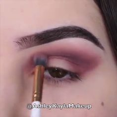 Eye makeup looks Eyeliner Makeup Goals, Makeup Inspo, Makeup Inspiration, Makeup Tips, Beauty Makeup, Eyebrow Makeup, Skin Makeup, Eyeshadow Makeup, Make Up Videos