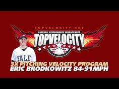 Eric Brodkowitz 84-9MPH - 3X Pitching Velocity Program