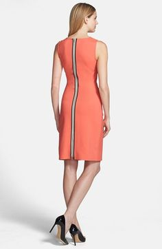Kenneth Cole New York 'Hilary' Sheath Dress (Petite) | Nordstrom