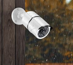 IP66 All Weather Security Camera | With the durable metal camera housing, no matter in the torrential rain day or freezing cold snow weather, under no circumstances will the powerful IP66 weatherproof camera be ever defeated.