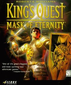 Kings Quest Mask Of Eternity  (PC CD) 'I can't reaaaach!' <3 :)