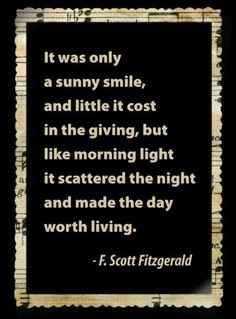 I love F. Scott Fitzgerald. 12 Quotes That Make You Wish F.Scott Fitzgerald Would Write You A Love Letter
