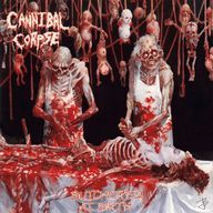 Cannibal Corpse - Butchered at Birth - 1991 Original album cover Thrash Metal, Death Metal, Heavy Metal Music, Heavy Metal Bands, Cannibal Corpse Album Covers, Hard Rock, Rock And Roll, Musica Metal, Rock Bands
