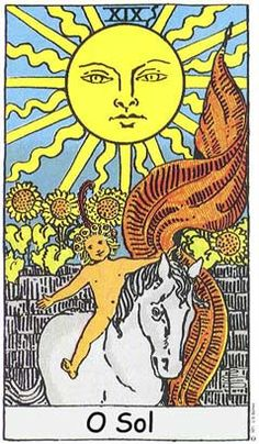 On-line free tarot readings. Consult tarot for help and advice on love and relationships. Get tarot insight, future predictions. O Sol Tarot, The Sun Tarot Card, Tarot Rider Waite, Tarot Waite, Tarot Significado, Rose Croix, Tarot Gratis, Art Carte, Tarot Major Arcana