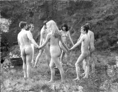 Pagan ritual naked sex coven fertility