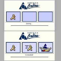 The good ol' days of #AOL